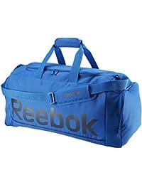Reebok Spor Roy M Grip Bolsa de Deporte, Niños, Azul (Awesom / Maruni), Talla Única