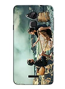 Blue Throat Two Poor People Enjoying In Rain Printed Designer Back Cover For Coolpad Note 3