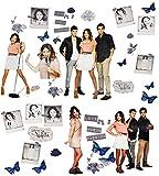 Unbekannt 44 TLG. Set _ XL Wandtattoo / Sticker -  Disney Violetta  - Wandsticker - Aufkleber für Kinderzimmer - selbstklebend + wiederverwendbar - Mädchen / Martina ..