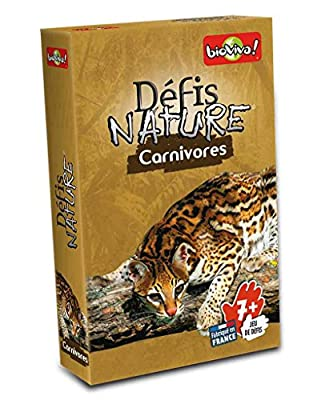 Bioviva - 0101002108 - Jeu de Société - Défis Nature - Carnivores