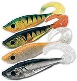 Behr Trendex Twister-Shads 3D 12cmohne Bleikopf, Farbe 03, Inh. 3 Stück