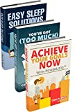 Simplify Your Life: Achieve Your Goals Now with PowerLists, You've Got (Too Much) Mail!, Easy Sleep Solutions (Goal Achievement, Habit Building, Email Management, Better Sleep) (English Edition)