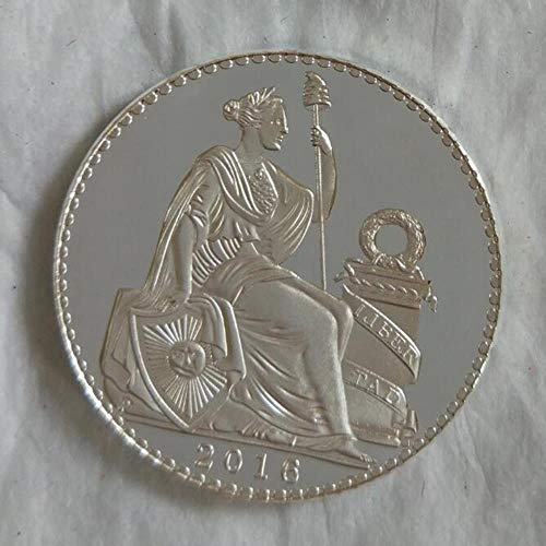 Yoin 1 Stücke Peru Freiheitsstatue Splitter Münzen Göttin Kopie Münze Souvenir Metallhandwerk Münzen (Peru Münzen)