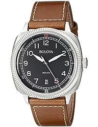 Bulova Analog Black Dial Men's Watch - 96B230