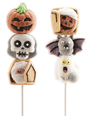 Generique - Halloween Süßigkeiten-Spieß mit Marshmallow - Halloween Süßigkeiten