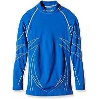 SPAIO ® Thermo Camiseta de niños de Mangas largas, Azul, 128-134