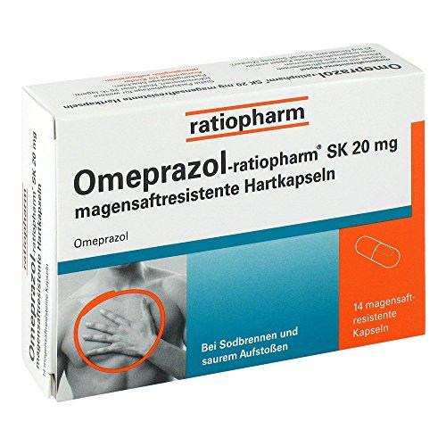 Omeprazol-ratiopharm SK 2 14 stk