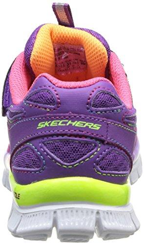 Skechers Appeal Align II, Chaussures de sports en salle fille Violet (Prmt)