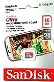 #8: Sandisk Ultra 16Gb Micro SD Class 10