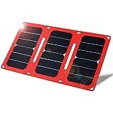 Cargador solar 21W 5V Dual USB Port plegable Jet-Line Sunpower con panel solar para iPhone, iPad, Samsung y otros dispositivos digitales