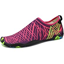 SAGUARO® Verano Aquashoes Zapatos de Agua Zapatillas de Playa Secado Rápido Calcetines de Natación Calzado de Surf acuàticos deporte Hombre Mujer