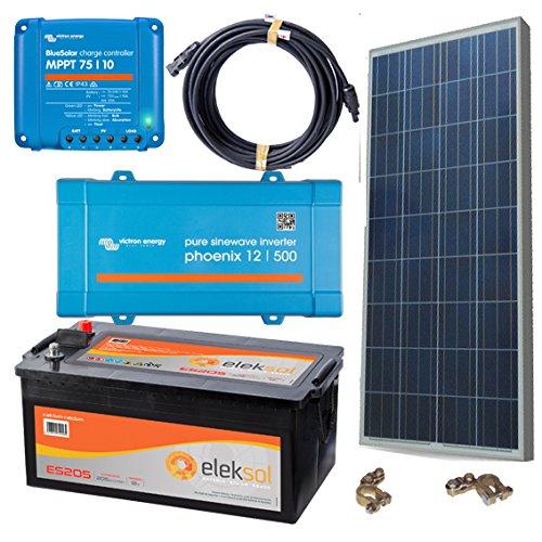 El Kit solar fotovoltaico 500VA es perfecto para un uso diario y de fin de semana de iluminación y electrodomésticos con energía solar(max 500VA). Kits solares de aislada aptos para casas de uso diario y fin de semana. Ahora tendrás la oportunidad de...