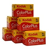 Kodak Color Plus - 35mm film, 6 rolls, 24 exposure/roll, ISO 200 - Kodak - amazon.it