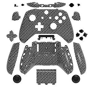 Gehäuse Full Shell Set Blenden ABXY Tasten + LB RB LT RT + Right/Left Schienen für Xbox One X/S Controller
