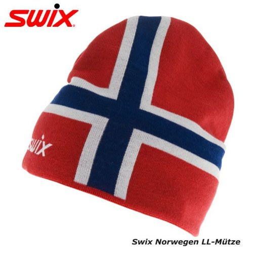 -swix-unisex-norway-beanie-cap-hat-red-blue-for-ski-snowboard-size-58cm-23in-
