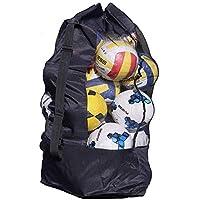 SUBZHAOYI 10-15 - Borsa a Rete per palloni da Calcio, Basket, per Allenamento