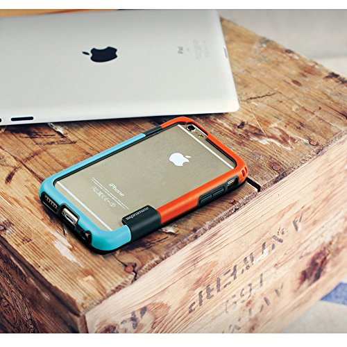 Promate Coat iPhone 6Coque en cuir à clipser Premium super fin de protection 11,9cm iPhone 6/6s (Gold) rose