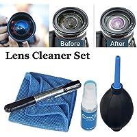 Kit de limpieza de lentes de limpieza para cámaras Canon Nikon Sony y filtros de calidad profesional