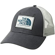 The North Face Muddier Trucker Gorra, Hombre, Gris/Gris/Negro, Talla Única