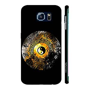 Enthopia Designer Hardshell Case Ying Yang Signs Back Cover for Samsung Galaxy S7 Edge