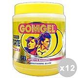 GOMGEL Set 12 Gel stark wet look 1 lt. - Haargel