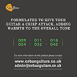 Guitares Coban mcg4Cordes pour Guitare électrique 9-42x 1paquet