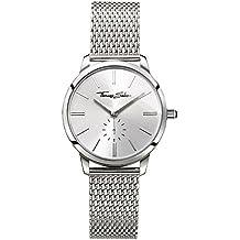 Thomas Sabo Damen-Armbanduhr Glam Spirit Silber Analog Quarz