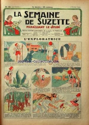SEMAINE DE SUZETTE (LA) [No 10] du 07/02/1935 - L&...
