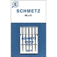 Universel 90//14-5 paquets de 10 Schmetz Aiguilles pour machines à coudre vrac DISCOUNT