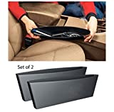 #4: Jaz O Ride Car Seat Catcher Car Organizer Catch Caddy (set of 2, Black colour) With Key ring for Mahindra XUV 500