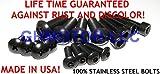 Ghmotor 19881989199019911992Ducati paso 750906907bulloni e rondelle carena bulloni di fissaggio viti kit set Made in USA tutti nero