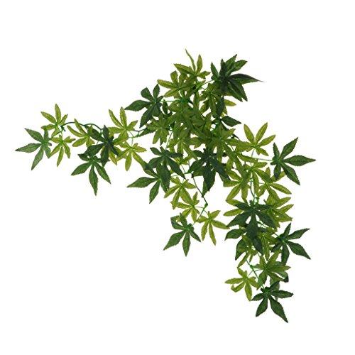Homyl Hängepflanze Dekopflanze für Terrarium - Typ 2, 50 cm