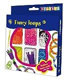 Playbox Bastel-Set Gummibänder, 300 Stück, mehrfarbig
