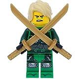 LEGO Ninjago Minifigur Lloyd (70651) mit 2 GALAXYARMS Schwertern