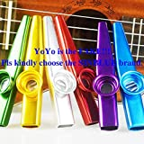 Best Kazoos - SINBLUE Set of 6 Colorful Metal Kazoo Review