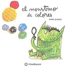 El monstruo de colores, en cartoné