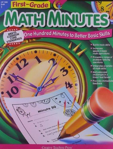 1st-Grade Math Minutes by Kim Cernek (2002-06-02)