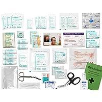 Komplett-Set Erste-Hilfe DIN 13157 EN 13 157 PLUS 2 für Betriebe mit Hände-Antisept-Spray,Notfallbeatmungshilfe... preisvergleich bei billige-tabletten.eu