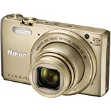Nikon Coolpix S7000 16 MP Point and Shoo...