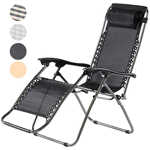 Charles Jacobs Zero Gravity Reclining Chair - Black