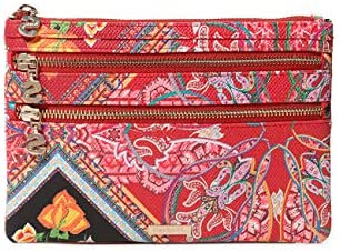 Desigual - Wallet Folklore Cards Multizip Women, Carteras Mujer, , 1x15.5x22.5 cm (B x H T)