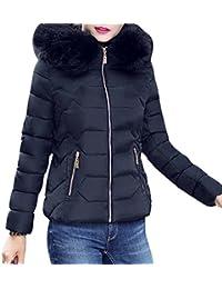 72515c36e87e TUDUZ Damen Daunenjacke Damen Winter Jacke Steppjacke Übergangsjacke  Winterparka mit Kapuze-5 Farben+Schwarz