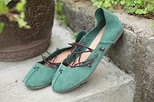 weiche boden schuhe, schuhe ballet shoes handgefertigten lederschuhe 40