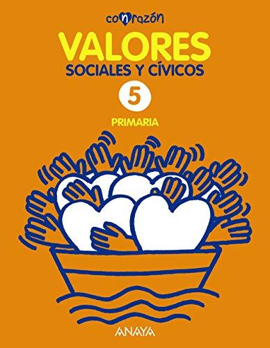 Valores Sociales y Cívicos 5. (Con razón) - 9788467842265 por Fernando Martínez Llorca