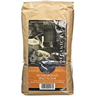 Bacheldre Watermill Organic Stoneground Wholegrain Spelt Flour 1.5 kg (Pack of 4)