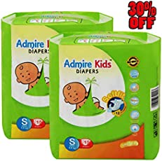 Admire Kids Small Size Diapers - Discount 30% Off Now. (30 Count) - Small Size Diapers
