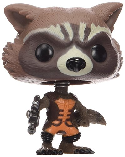 Funko 3792 POP! Bobble: Guardians O/T Galaxy: Rocket Raccoon (Pop Rocket Raccoon)