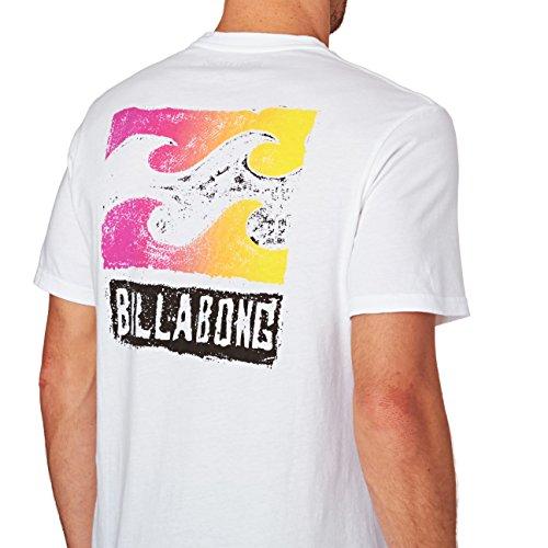 Billabong Herren Haze Tee Ss T-Shirt White