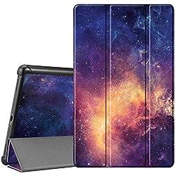 FINTIE Coque pour Samsung Galaxy Tab A T510 / T515 10.1 2019 - Ultra-Mince et Léger Housse Etui de Protection en Cuir PU avec Fonction de Support pour Samsung Galaxy Tab A 10.1 2019, Galaxy