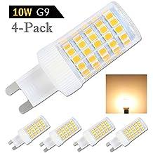 G9 LED Lampe,10W,Warmweiß,G9 LED Leuchtmittel Nicht Dimmbar,Ersatz Für